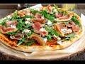 Пицца с инжиром прошутто и козьим сыром
