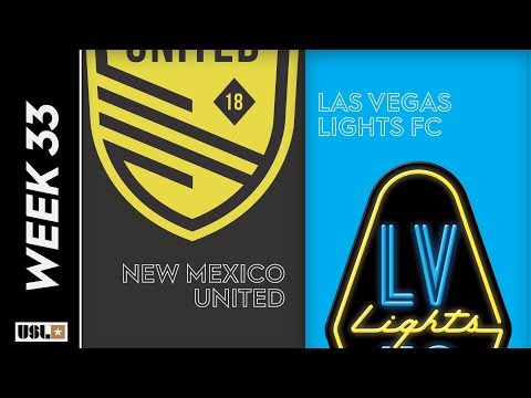 New Mexico United vs. Las Vegas Lights FC: October 19, 2019