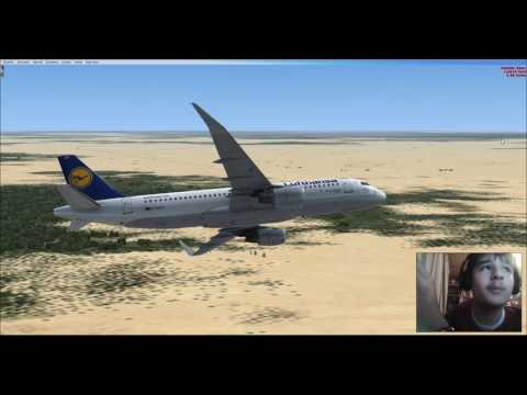 FSX: Luanda to Lagos with an A320