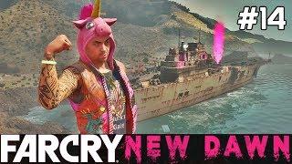 FAR CRY New Dawn Gameplay PL [#14] LOTNISKOWIEC, Wbijamy /z Skie