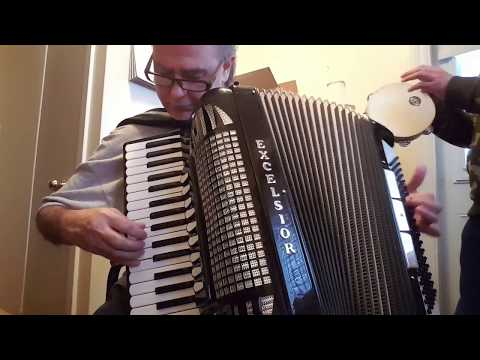 Tarantella Siciliana Mix - Accordion and Tambourine - Fisarmonica - Biagio Farina