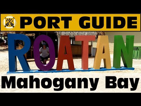 Port Guide: Mahogany Bay, Roatan - Everything We Think You Should Know Before You Go! - ParoDeeJay