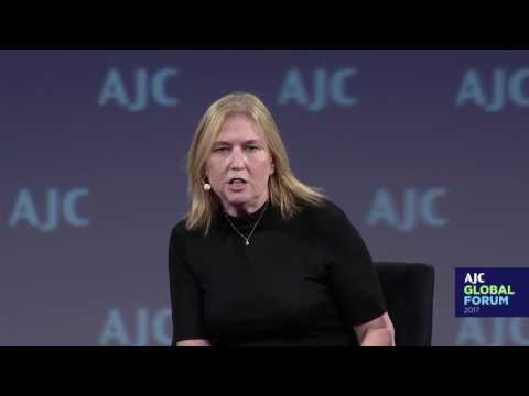 MK Tzipi Livni on President Trump and the Peace Process