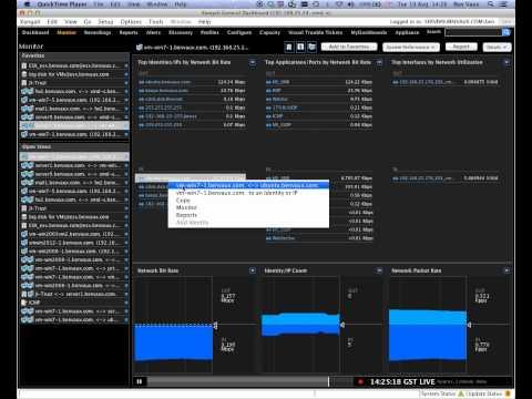 Xangati Monitoring Network Latency