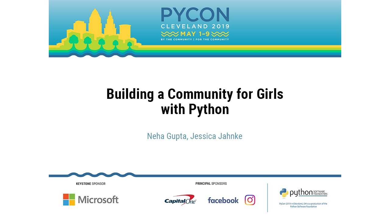 Image from Building a Community for Girls with Python