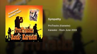 Sympathy (In the Style of Goo Goo Dolls, The) (Karaoke Version Teaching Vocal)