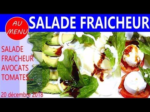 【salade-fraicheur】-avocats---fromages---tomates---recette-facile-rapide-#vc0019-#vs00115-#au010101