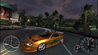 Need for Speed: Underground 2 - Supra Brian O' Conner Tuning