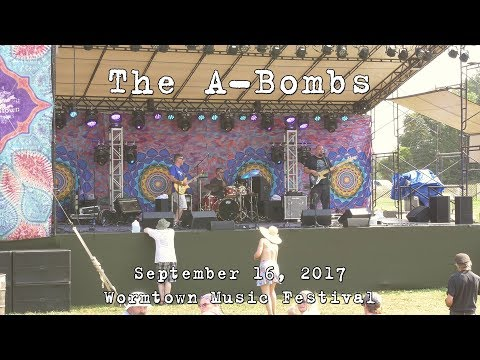 The A-Bombs: 2017-09-16 - Wormtown Music Festival; Greenfield, MA [4K]