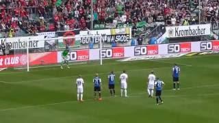 Arminia Bielefeld - Hannover 96 3:3 (18.9.2016) 2. Liga