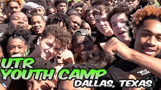 🔥🔥 UTR Exposure Camp | Middle School | Dallas, Texas | Kids Went CRAZY !!!