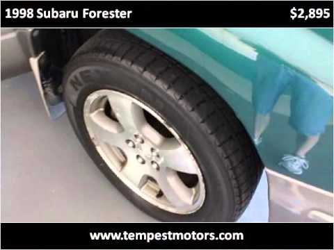 1998 subaru forester used cars akron oh youtube for Tempest motors in akron ohio