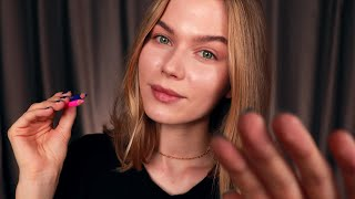[ASMR] 4 Relaxing Personal Attention Trigger Mix. Rode NT1 test (Ear to Ear Whispers)