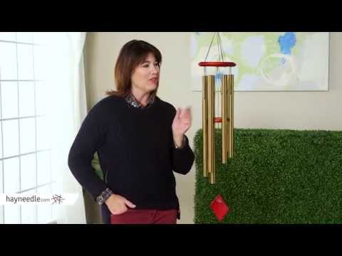 Woodstock 37 Inch Earth Wind Chime - Product Review Video