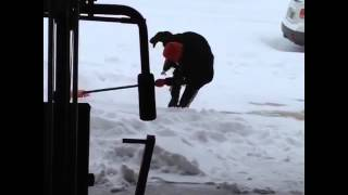 Possibly The Best Snow Shoveling Fail Of All Time