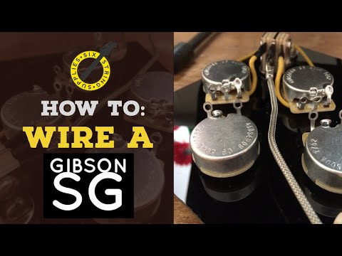 [DIAGRAM_38IU]  How to wire a Gibson SG - Wiring an SG Harness - - YouTube | Wiring Diagram For Gibson Sg |  | YouTube