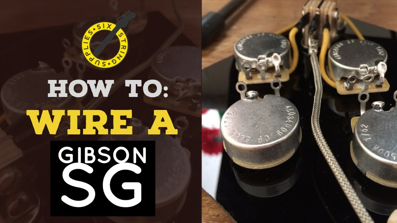 hight resolution of how to wire a gibson sg wiring an sg harness