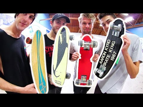 4 AWESOME MINI SKATEBOARDS GAME OF SKATE! | YOU MAKE IT WE SKATE IT EP 159