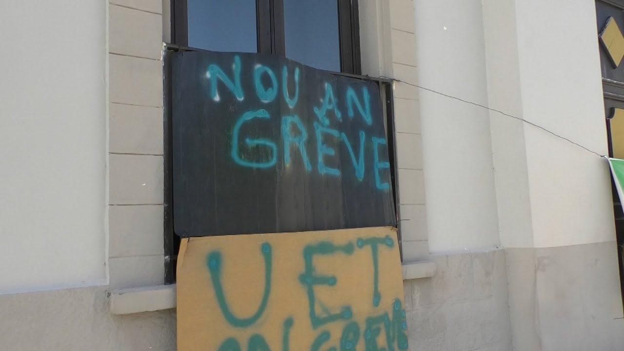 Sainte Rose : la grève des employés municipaux continue