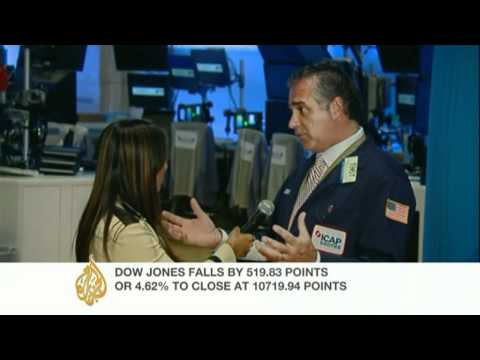 Cath Turner reports from the NY Stock Exchange
