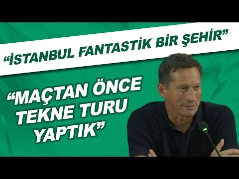 """PSV Teknik Direktörü Roger Schmidt: """"İstanbul fantastik bir şehir. Maçtan önce tekne turu yaptık"""""""