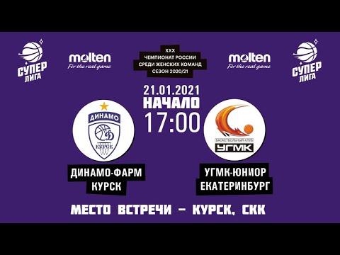21.01.2021 17:00 Динамо-Фарм - УГМК-Юниор