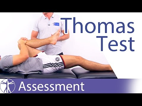 Thomas Test ⎟ Iliopsoas Tightness