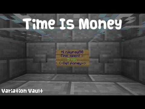 Minecraft bukkit plugin time is money give players money for minecraft bukkit plugin time is money give players money for being online sciox Images