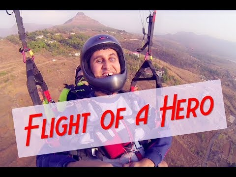 INDIA'S FIRST VISUALLY IMPAIRED PARAGLIDER...
