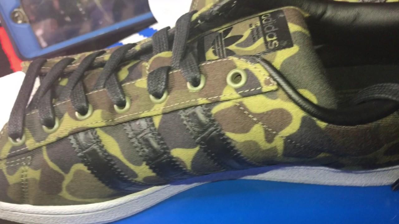 adidas superstar rimbalzare casual shell top (mimetica) di scarpa