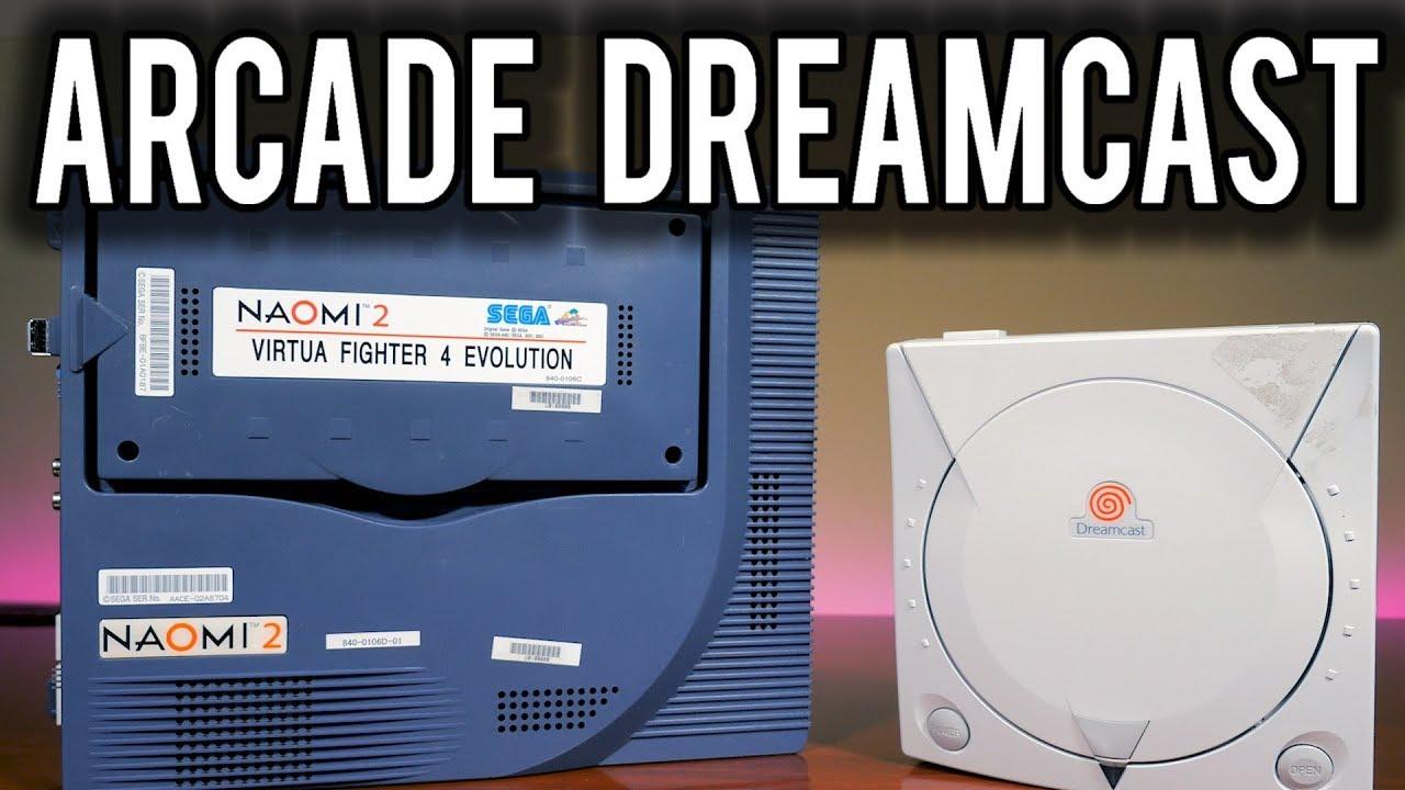 The Arcade Sega Dreamcast - Revisiting the Sega Naomi Arcade Hardware | MVG