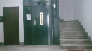 BUSTED: 1970's Plaitano (Mod. Plaitano) Traction Elevator@Corso V.Emanuele 14, Salerno, Italy