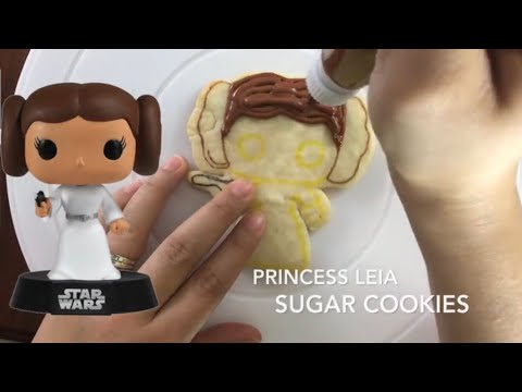 Princess Leia Funko Pop Star Wars Sugar Cookies