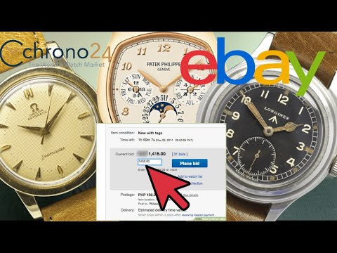 10 Questions to Ask When Buying Watches Online - eBay