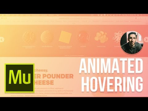Muse 2017 Tutorial | Animated Hovering Cheeseburger