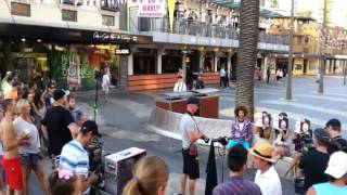 """Making of """"Let's Get Ridiculous"""" by Redfoo - The Manly Corso, Sydney"""