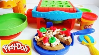 Play Doh Twirl N Top Pizza Shop Pizzeria Pizza Maker