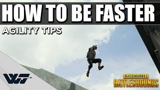 GUIDE: How to be FASTER - A collection of agility tips for PUBG
