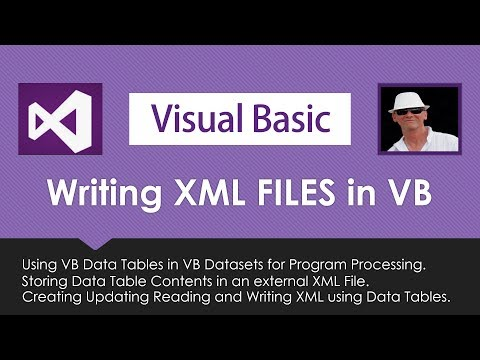 How Use Data Tables With XML Files In Visual Basic VB.Net