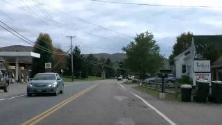 Stowe, Waterbury, and Montpelier Vermont Drivelapse Dash Cam