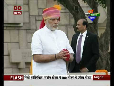 PM pays floral tribute to Mahatma Gandhi at Rajghat