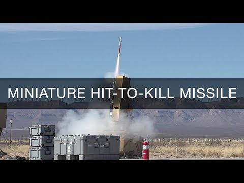Lockheed Martin Mini-Missile Takes Flight: Miniature Hit-to-Kill (MHTK) Interceptor