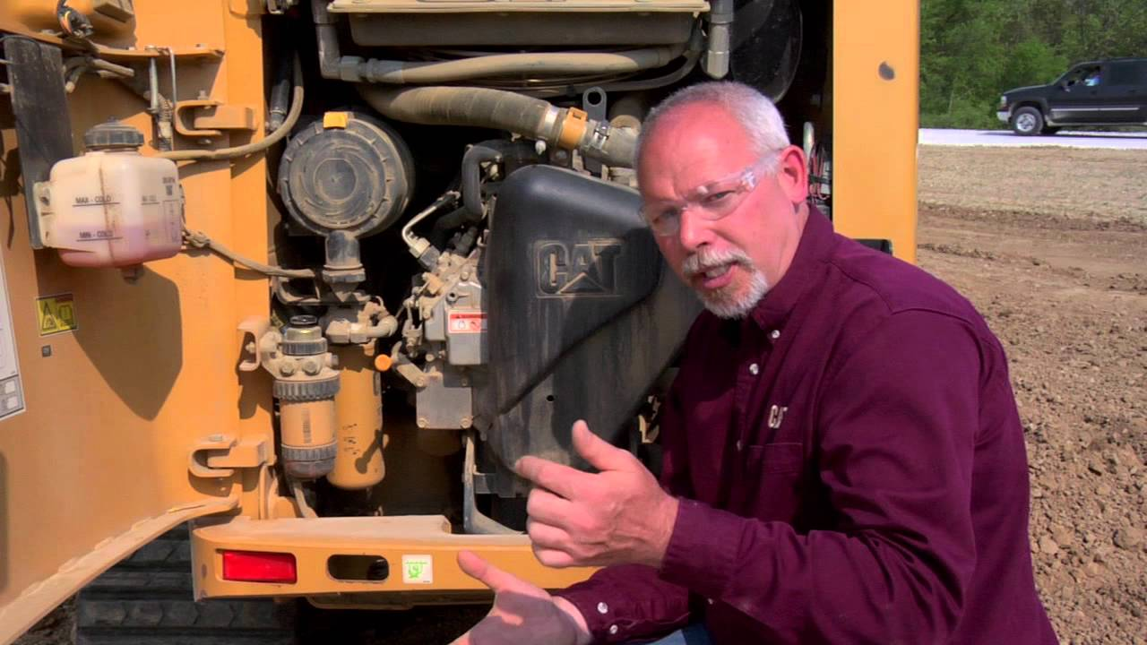 Cat Multi Terrain Loader Filter Replacement Tips Youtube 240d Fuel