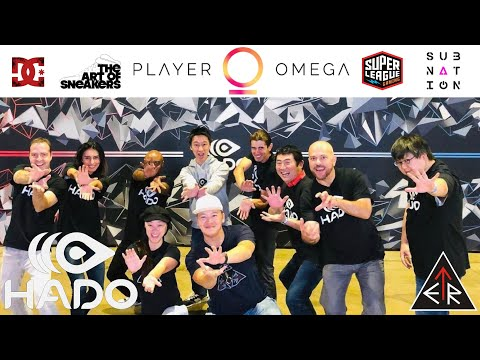 📈.    PLAYER OMEGA feat. HADO - the world's 1st series (AR) sports in the USA!