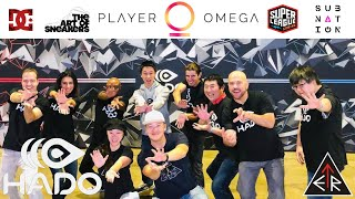 An ETR EXCLUSIVE coverage of PLAYER OMEGA feat. HADO- the world's 1st series (AR) sports in the USA!