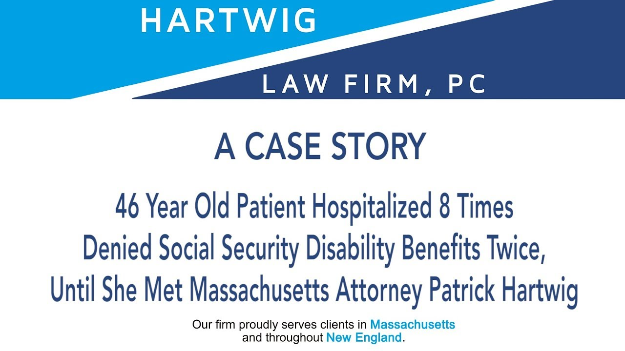 Social Security Disability Case Studies | Hartwig Law Firm |