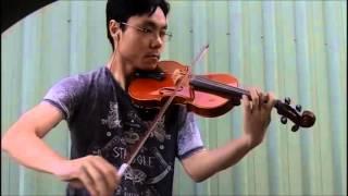 Trinity TCL Violin 2016-2019 Grade 1 B2 Carse Minuet Fiddler's Nursery No.8 Performance