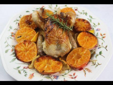Pollo a la mandarina | Receta de Navidad