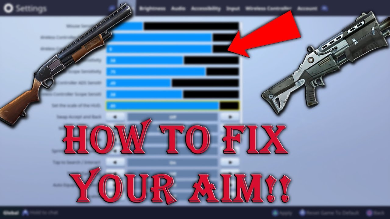 how to aim better stop losing your shotgun fights win more games fortnite battle royal - fortnite how to aim better with shotgun