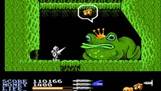 Ironsword Wizards & Warriors II Nes Full Playthrough No Death